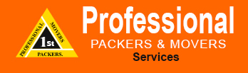 1st Professional Packers and Movers Logo